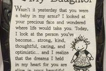 To my daughters
