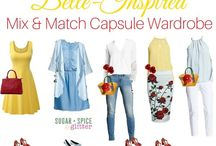 Belle inspired outfits