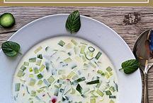Suppen Rezepte – vegetarisch / Leckere Rezepte für russische Suppen mit Anleitungen zum Nachkochen