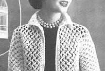 Vintage Style Crochet Patterns / Vintage crochet pattern designs and crochet accessories that have a vintage look and feel either due to the stitches or colours used.
