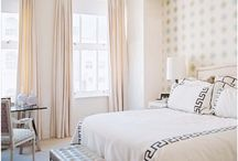 Lafayette Master Suite / Furniture, paint colors, lighting, floor ideas, closet ideas. Master Bath, layout, style, colors, tile, cabinets, fixtures and finishes. / by Jimmy McFadden