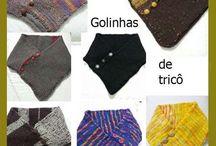 Gola trico / Gola trico circular sem emenda