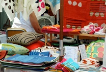 Aprons, teatowels and pretty kitchen stuff / by Gillian Grant