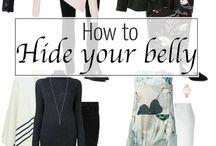Hide belly