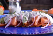 canal cocina ensalada aguacate salmon y vinagreta pepino