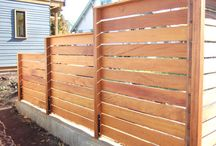 Fence and screen ideas