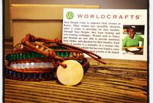 """Fair Trade/Gift Ideas / I work for an organization that has a fair trade ministry & works with impoverished women & families all over the world to share the gospel of Christ with them while helping to provide a sustainable income. I hope you'll check out WorldCrafts & give some """"purpose"""" to your shopping! :) / by Maegan Roper"""