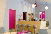 Interior Design | COMMERCIAL SPACES . spazi commerciali / Bar, Restaurants, shops...