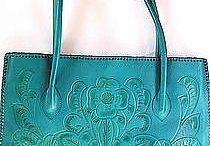 Turquoise Bags & Wallet