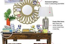 Entryway Table Decor / by Carrie Perrins 3595