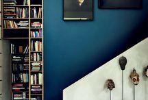 Electric Blue Walls