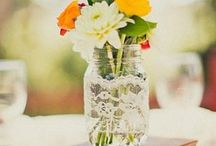 Centerpieces / by White Sand Weddings