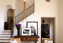 Foyer & stairs / by Julie Cronin Krise