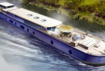 Hotel Barge Finesse / Finesse is a luxurious, double-decker hotel barge that is currently being commissioned, and will commence cruising the scenic River Saône and Canal du Centre in Southern Burgundy from May 2016.