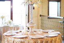Gold Winter Wedding Photo-Shoot
