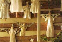 Angels / by Folk Artist Sue Corlett