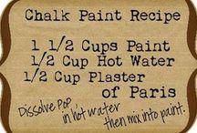 chalk. paint furniture