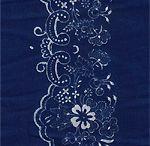 Blue linen, Indigo dyed linen - Kékfestő