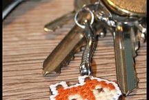 FOX, lis, haft krzyżykowy