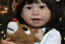 Jannie de Lange - Aziatisch meisje (kerst)