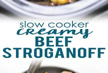 Instant pot and slow cooker meals