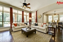 Stunning Stager Results / Rooms from a favorite home stager or two...