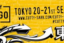 Cutty Cargo Tokyo / Cutty Cargo is a tour of the world's major cities including London, New York and Tokyo, to discover some of the best homegrown creative cultures and talents. Then it hit Tokyo!