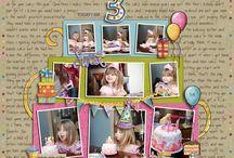 Birthday scrapbook / by Karen Green