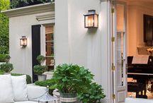 Outdoor verandah lighting