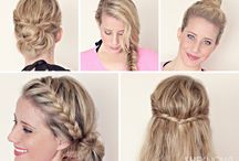 Hairstyles / We take you through some hairstyles you could have on the day of your photoshoot.