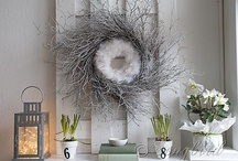 Twigs and Drift Wood Decoration