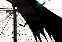 Batman / Batman, Batgirl. catwoman y villanos