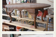 How to change a oak dining table