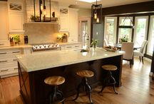 Ann's Kitchen Renovation...Such Style! / Working with someone who is confident with their sense of design and style makes for a creative wonderland...Ann's kitchen is timeless, modern yet classic. What a kitchen!