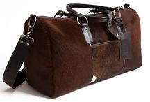3.7.6. Weekender Bag VIRGO VRG91 (314816) / Brown cow's hide and brown natural leather, brown fabric inside Size (mm) 540 x 230 x 300 www.376style.com