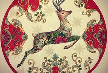 Johanna´s Basford - Christmas Book
