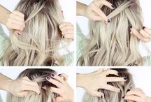 Hairstyle Inspiration / easy hair dos, easy hair styles