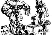 Bodybuilding Art