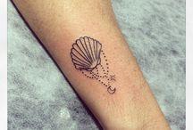 Schelp tatoeages