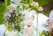 Floral design / Teapot display