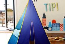 Tipi Petite Enfance-garderie / Tipi early childhood-daycare / Le tipi conçu pour la Petite Enfance ! The tipi designed for early childhood. Meilleur rapport qualité-prix, durable et coloré !  Best value, resistant & colorful  You can use for many activities in your local and also for special needs children has a relaxation quiet place.