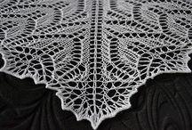 Scialli uncinetto maglia - Shawl crochet and knitting