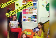 Livros Infantis. Leitura Infantil. Cantinho da Leitura.
