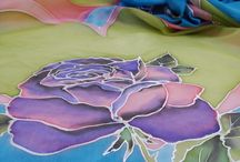 Módní doplňky / #artplanet.cz #handmade #módnídoplňky #fashionaccessories #hedvábí #silk #malovanéhedvábí #handpaintedsilk