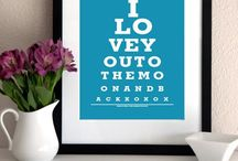 eye charts / by donna cousins