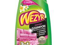 Wezyr - szampon do dywanów wykładziń i tapicerki