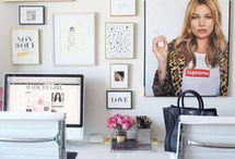 Office Makeover / Inspiration and decorating tips from PureWow, Homepolish and CB2.