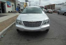 Used 2006 Chrysler Pacifica for Sale ($5,599) at Paterson, NJ / Make:  Chrysler, Model:  Pacifica, Year:  2006, Body Style:  Tractor, Exterior Color: Silver, Interior Color: Gray, Vehicle Condition: Excellent,  Mileage:107,000 mi, Engine: 6Cylinder 3.5L V6 SOHC 24V, Fuel: Gasoline Hybrid, Transmission: 4 Speed Automatic, Abs Brakes,Front Shoulder .  Contact:973-925-5626   Car Id (56643)