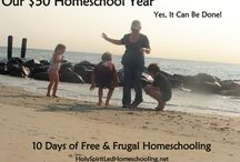 Freebies and Frugal Homeschooling / Free and inexpensive ideas and resources for homeschooling.