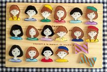 Little clothespin people